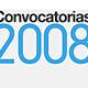 MINISTERIO DE CULTURA - CONVOCATORIA COMICS 2008
